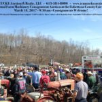29th Annual Farm Machinery Consignment Auction March 18th, 2016 ♦ 9:30 A.M.